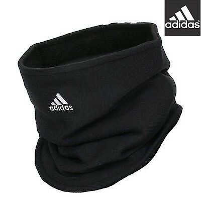 Adidas Black Neck Warmer, W67131 Gaiter Tube Fleece Free Size Tracking Number