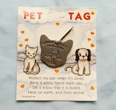 Cat Pewter Pet Tags