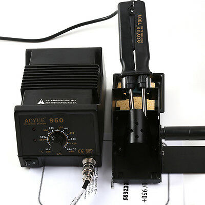 Aoyue 950 SMD Hot Tweezers Repair Rework Station 110V / 220V Soldering Station