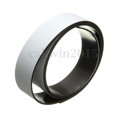Black 25mm x 1m Flexible Premium Self Adhesive Magnetic Tape Roll Magnet Strip
