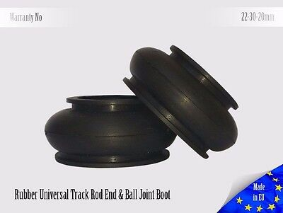 2 X HQ Rubber 22 30 20 Ball Joint Dust Boots Suspension Replacement Rubber Boot