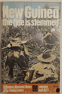 WW2 Japanese New Guinea The Tide Is Stemmed Ballantine Reference Book