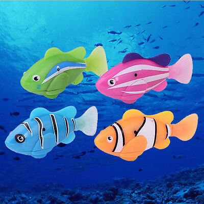 Swimming Robot Fish Activated in Water Magical Electronic Toy Kids Child Gift LS