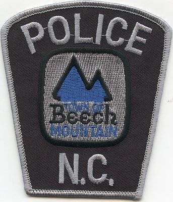 Beech Mountain North Carolina Nc Police Patch