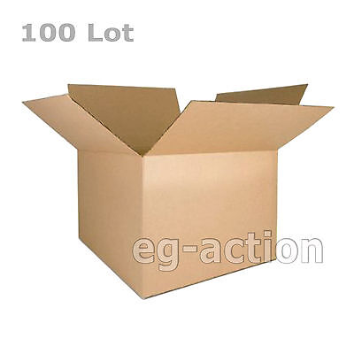 100 7x5x3 Cardboard Packing Mailing Moving Shipping Boxes Corrugated Cartons