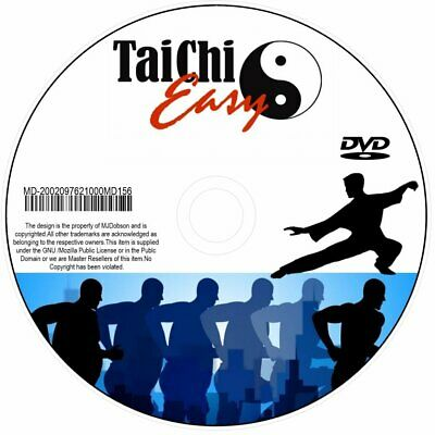 (MD156) Learn Tai Chi - Relaxation Exercise Guide Beginners Health Fitness