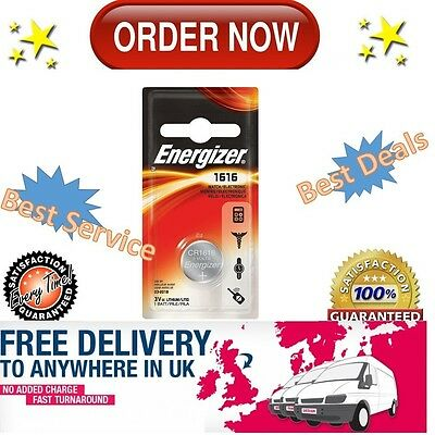 Energizer 1616 Batteries CR DL1616 3V Lithium Battery - BUY MORE PAY LESS!