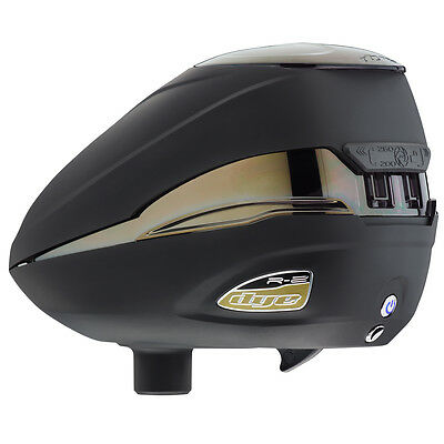 Dye Rotor Loader R2 Black Gold Paintball PaintNoMore