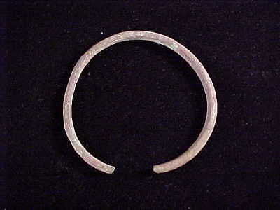 Viking Arm Ring Bracelet Solid Bronze 40 Gram Age 793 - 1066 AD Baltic Region #M