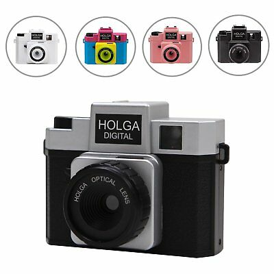 New Photo Video Picture Holga Digital Mixed Color Toy Camera