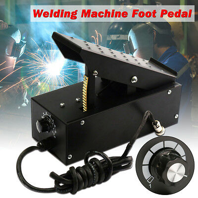 2+3 Pin TIG Foot Control Pedal Power Current Switch For Welder Welding Machine