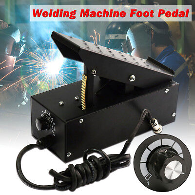 2+3 Pin TIG Welder Foot Pedal for TIG Welding Machines Power Control Equipment