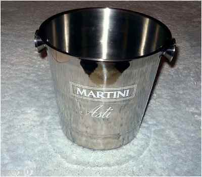 Stainless Steel Wine Asti Champagne Bucket - Party Ice Holder, Martini, ASTI
