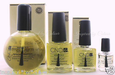 CND Solar Oil Nail & Cuticle Conditioner ~ Choose any~ *3.7ml *7.3ml *15ml *65ml