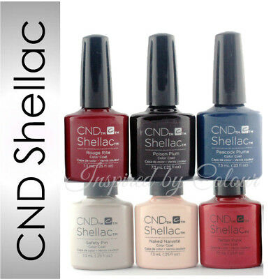 CND Shellac Power Polish Gel~Colours from CONTRADICTIONS Collection~UV/LED Cured