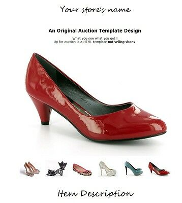 eBay HTML Auction Templates with Gallery for Clothing, Shoes, Accessories,toy