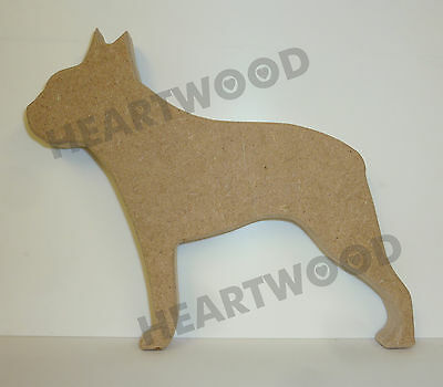 MDF Shape Dog 10 GREAT DANE  MDF cutouts keyring 5 Sizes FREE Hole DOGW031