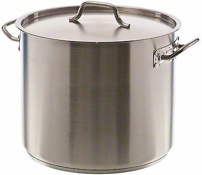 Update International (SPS-32) 32 Qt Induction Ready Stainless Steel Stock Pot...