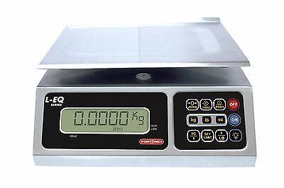 TORREY LEQ 10/20 High Precision Digital Portion Control Scale Stainless Steel...