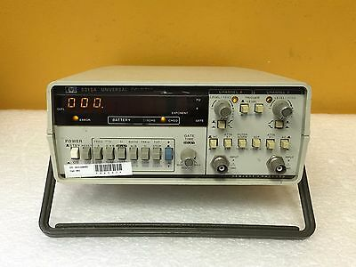 HP 5315A, 0 to 100 MHz (Both Inputs), Universal Frequency Counter + Option 001
