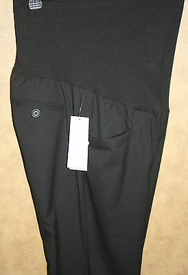 Liz Lange Target Black Trouser Dress Pant Flex Front