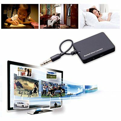 A2DP Bluetooth 3.5mm Stereo Music Wireless Transmitter Audio Adapter for PC MP3