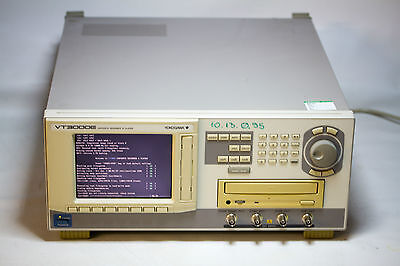 YOKOGAWA VT3000E Digital Content Recorder and TS Player
