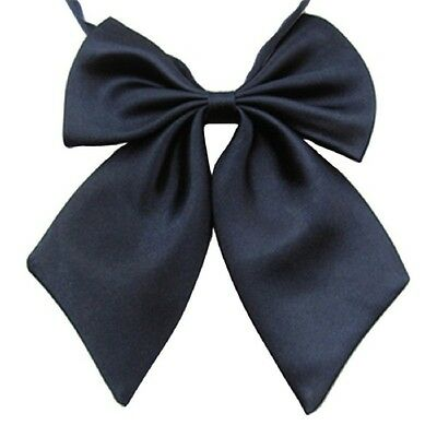 Sell Well Butterfly Cravat Silk Bowtie Solid Color Marriage For Women Business
