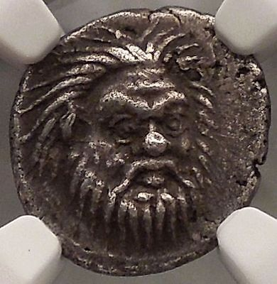 Bosporus Panticapaeum 370 BC Pan Authentic Ancient Greek Coin Certified NGC ChXF