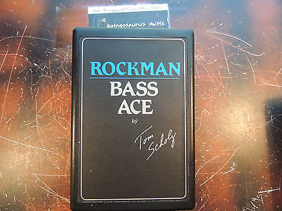 Rockman Bass Ace Headphone Amp Amplifier Works 100% Free Usa Shipping
