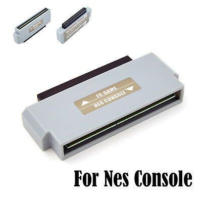 Famicom To Nes Converter Adapter Connector For Nintendo Nes 60 Pin To 72 Pin