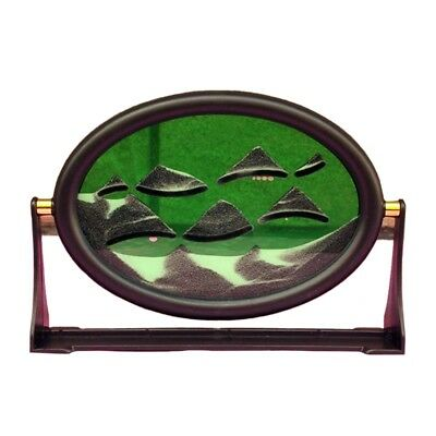 Ellipse 3D Moving Sand Glass Art Picture Frame Gift