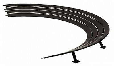 Carrera 1/32 Evolution Track Hight Banked Curves 3/30 With Supports Car20576