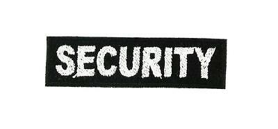 Patch ecusson brodé  backpack security securite thermocollant