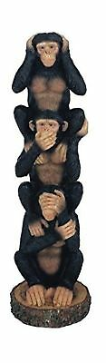 StealStreet Monkeys See Hear Speak No Evil Collectible Figurine Statue (Set Of 3