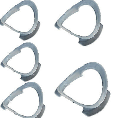 20 PCs Dental Teeth Whitening Cheek Retractor Mouth Opener O-shape White Color
