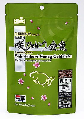 Saki Hikari Fancy Goldfish Balance Sinking Pellet baby Stick 200g New Japan
