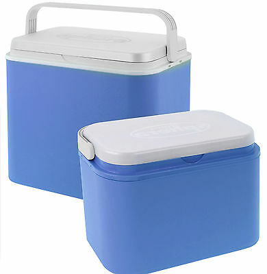 24 Litre or 10 Litre Cooler Box Picnic Insulated Box With Locking Lid