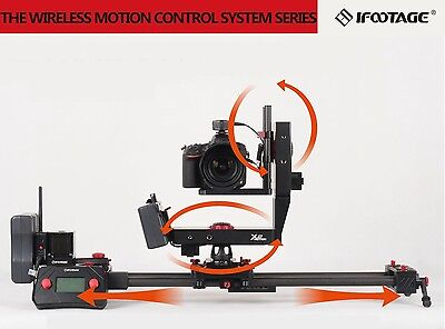 [iFootage Off] X2 B1/S1A3 Wireless 3-axis Motorized Motion Control Kit of Slider