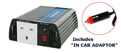 Skytronic 150W 12V Dc To Ac 230V Power Inverter With Reverse Polarity Protection