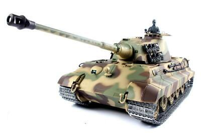 RC TANK HENG LONG King Tiger 2.4G Radio Remote Control  Pro  BB Shoot Tank