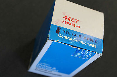 Potter & Brumfield KB4312-3 120vac latching relay free shipping
