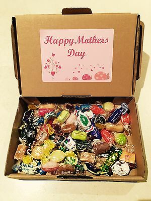 Personalised Mothers Day Pick & Mix Lollies Gift Box, British Sweets, Uk Imports
