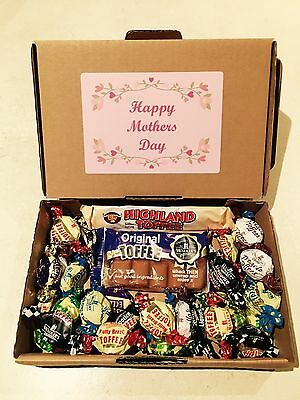 Personalised Mothers Day Walkers English Toffee Gift Box, British Sweets