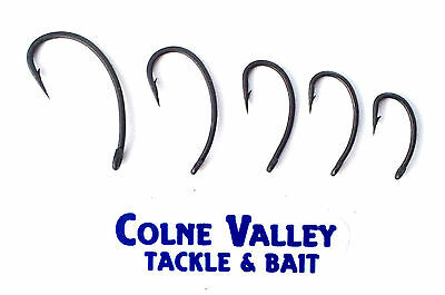 Curved carp hooks sizes  2,4,6,8,10,12 barbed, very strong very sharp cv tackle