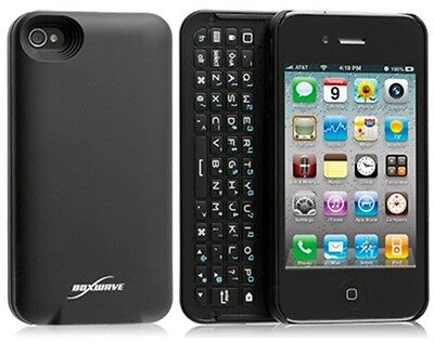 The Boxwave iPhone 4 / 4S Keyboard Buddy Bluetooth Case BLACK