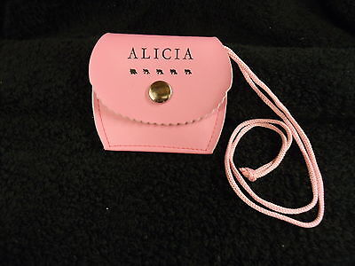 Personalised/Named Girls Pink Neck Purse ANY NAME AVAILABLE