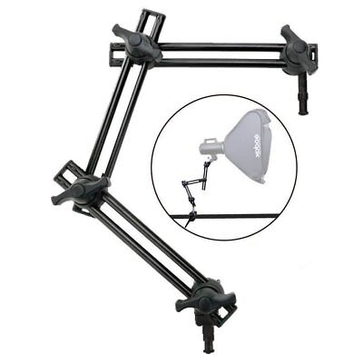 Studio 3-Section Double Articulated Arm Articulating Boom Arm Holder