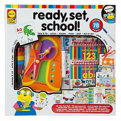 ALEX Toys  Early Learning Little Hands Ready Set School Educational Activity Kit