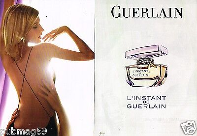 Publicité advertising 2007 (2 pages) Parfum L'Instant de Guerlain
